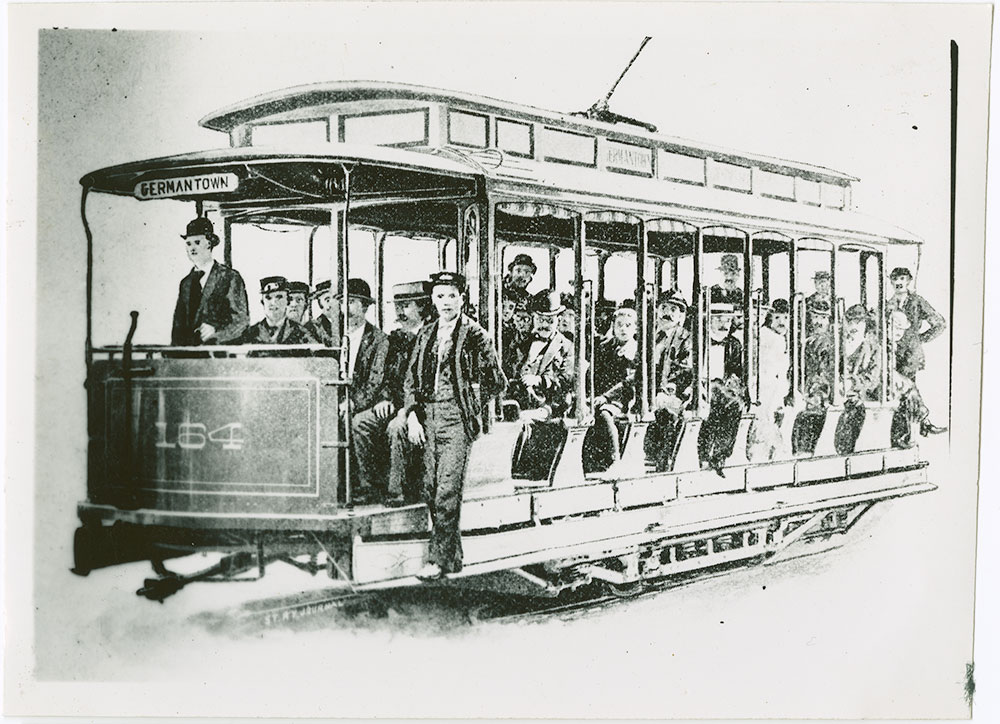 Trolley No. 164