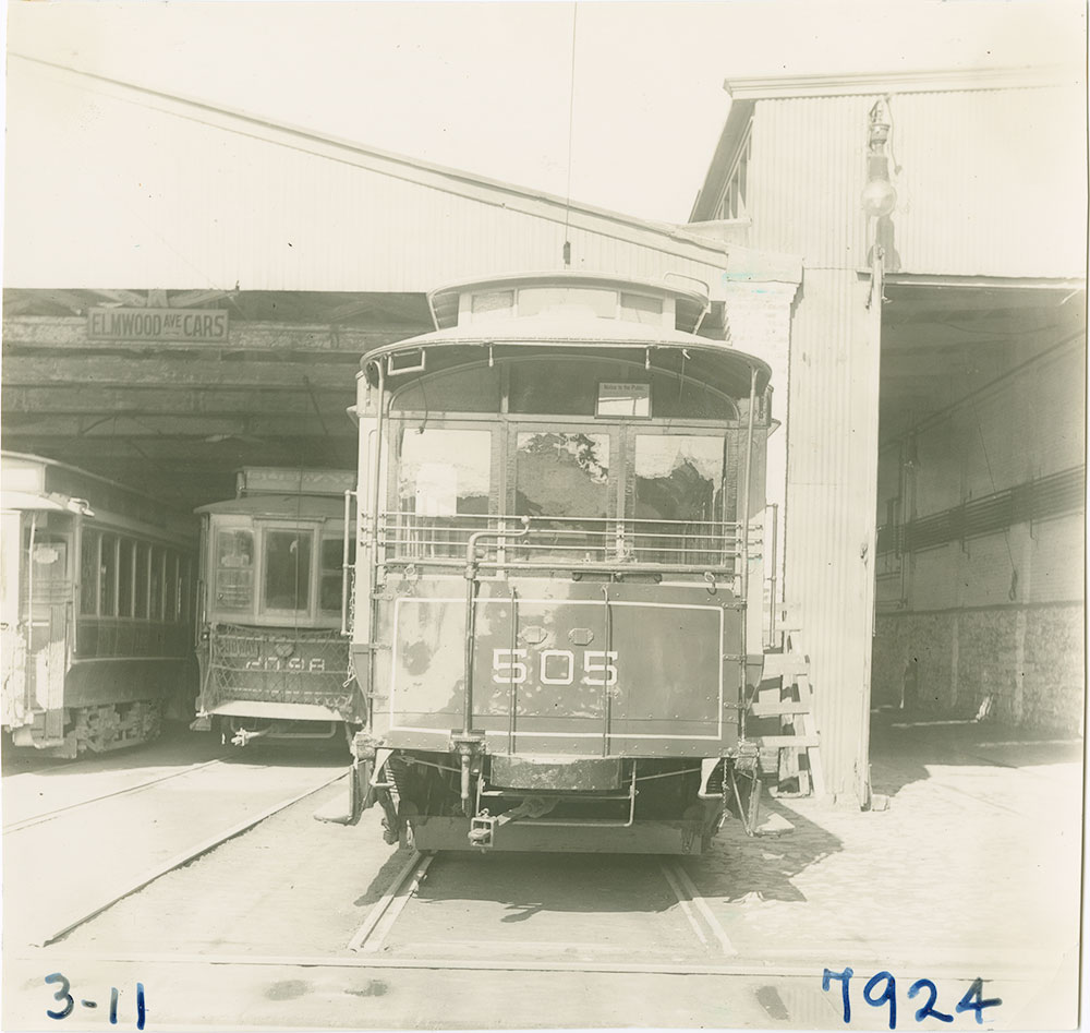 Trolley No. 505
