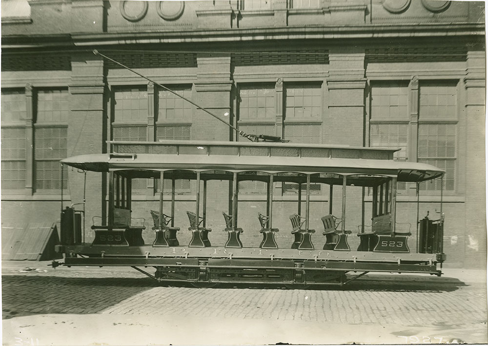 Trolley No. 523