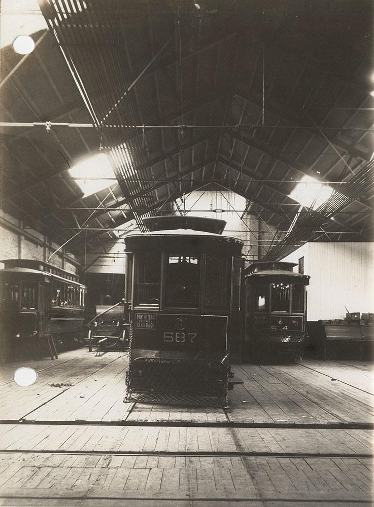 Trolley no. 587
