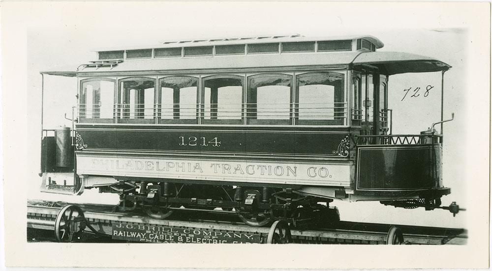 Trolley No. 1214