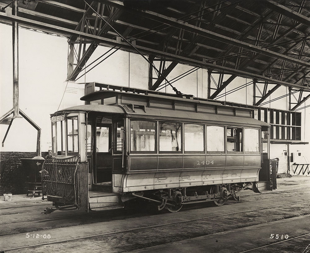Trolley no. 1404