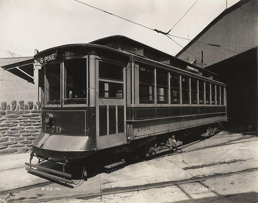 Trolley no. 1779