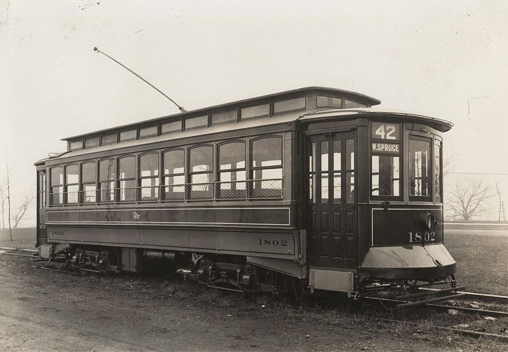 Trolley no. 1802