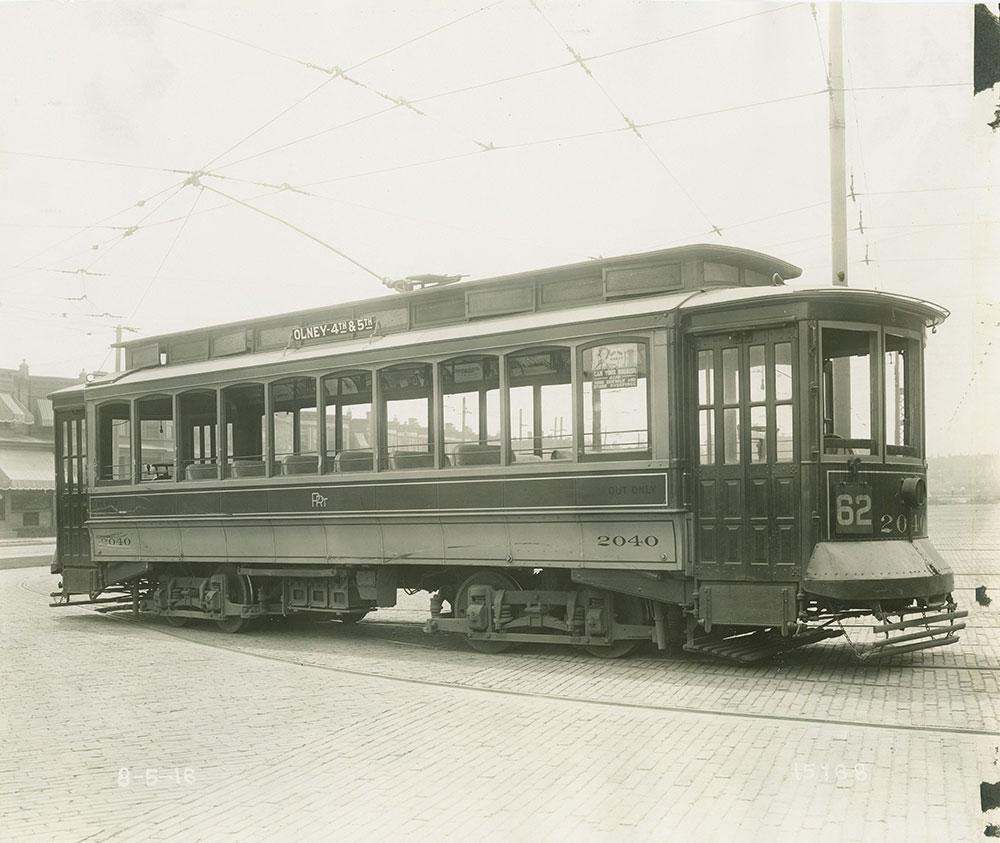 Trolley no. 2040