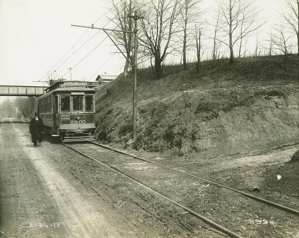 Trolley no. 2200