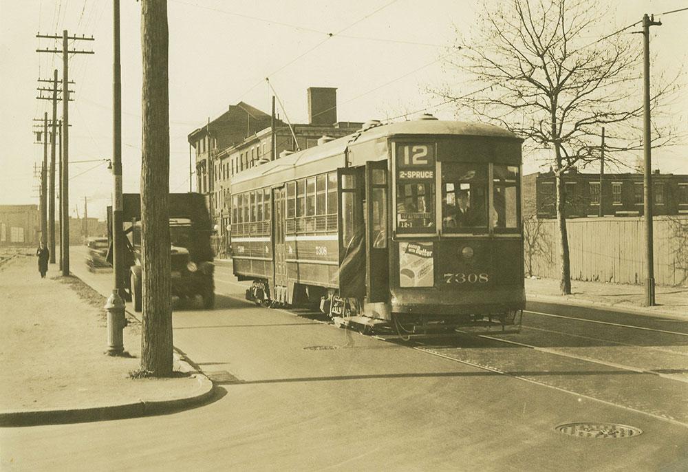 Trolley no. 7308