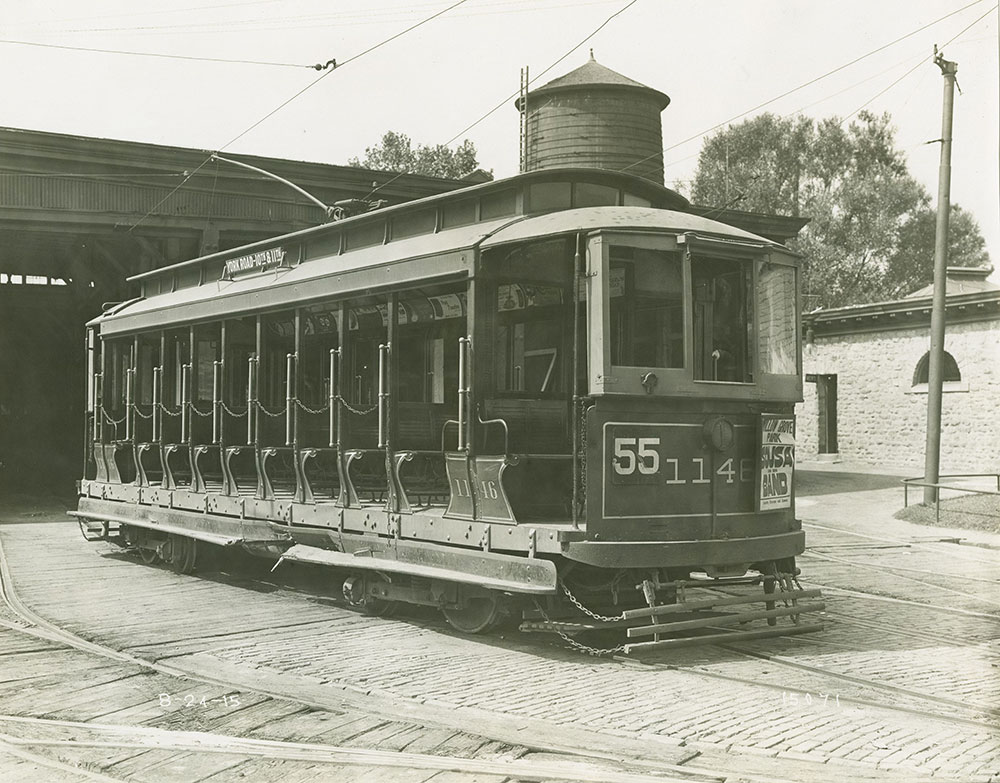 Trolley no. 1146