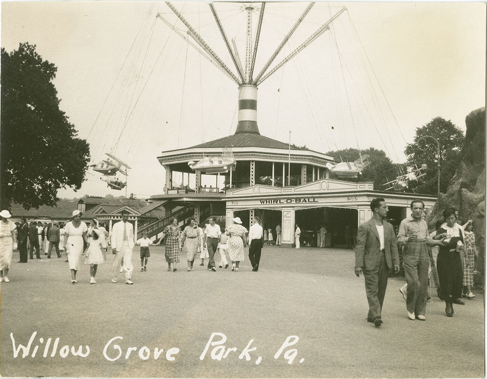 3f29252b3e7f8 Willow Grove Park, Pa - Digital Collections - Free Library