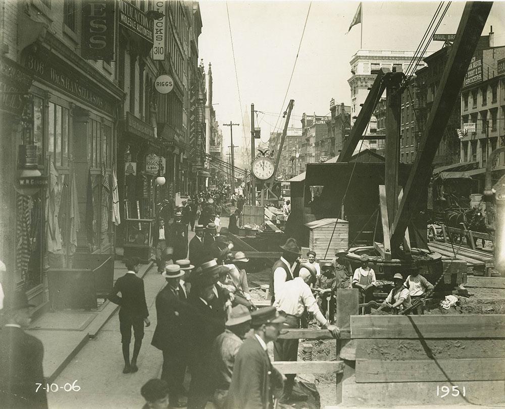 Construction on Market Street