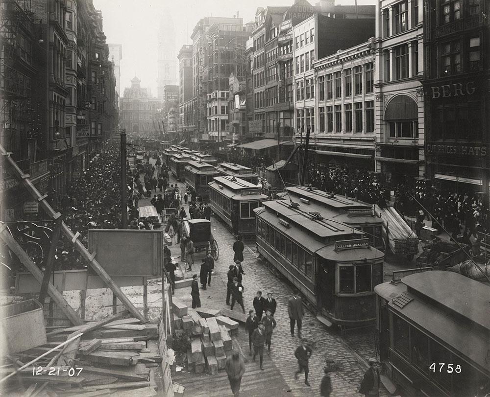 Trolleys on Market Street