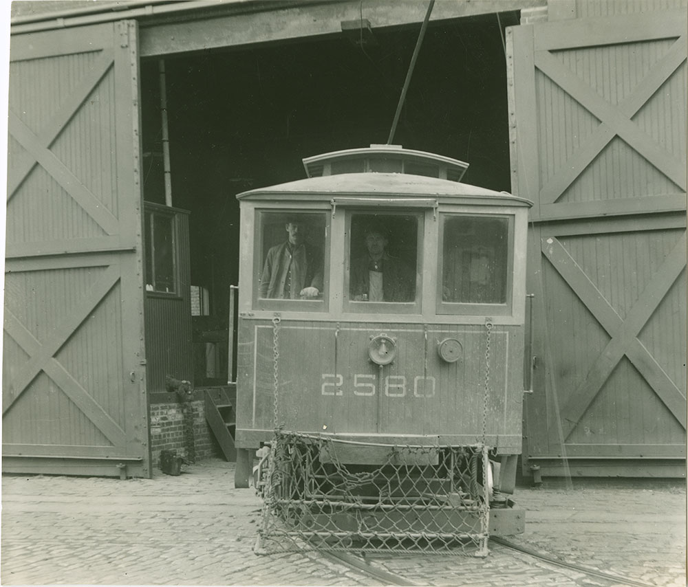 Trolley No. 2580
