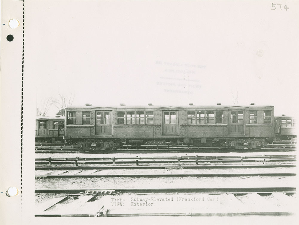 Trolley No. 574