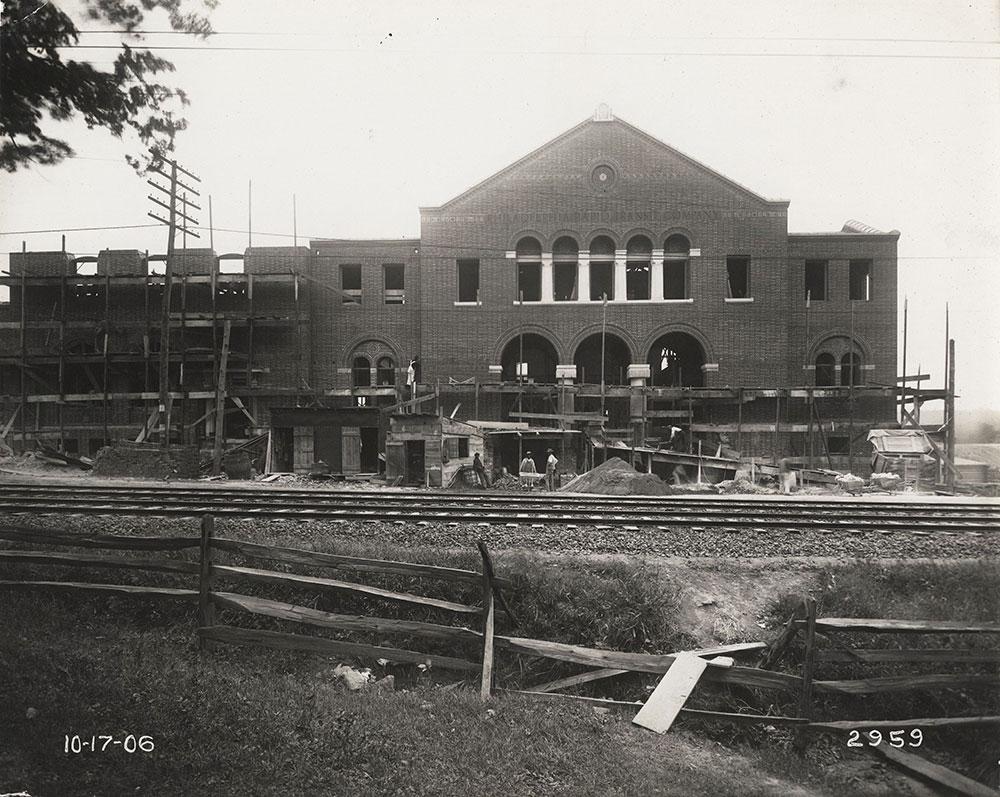 69th Street Terminal under construction