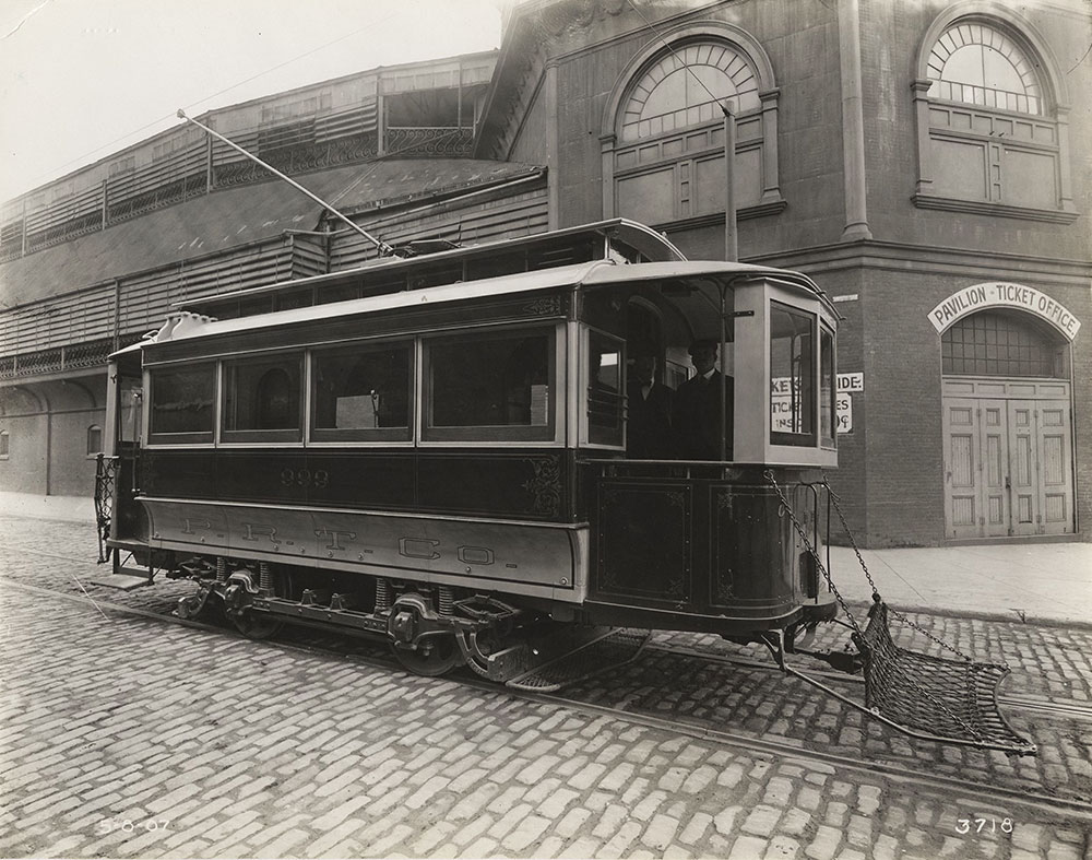 Trolley no. 999