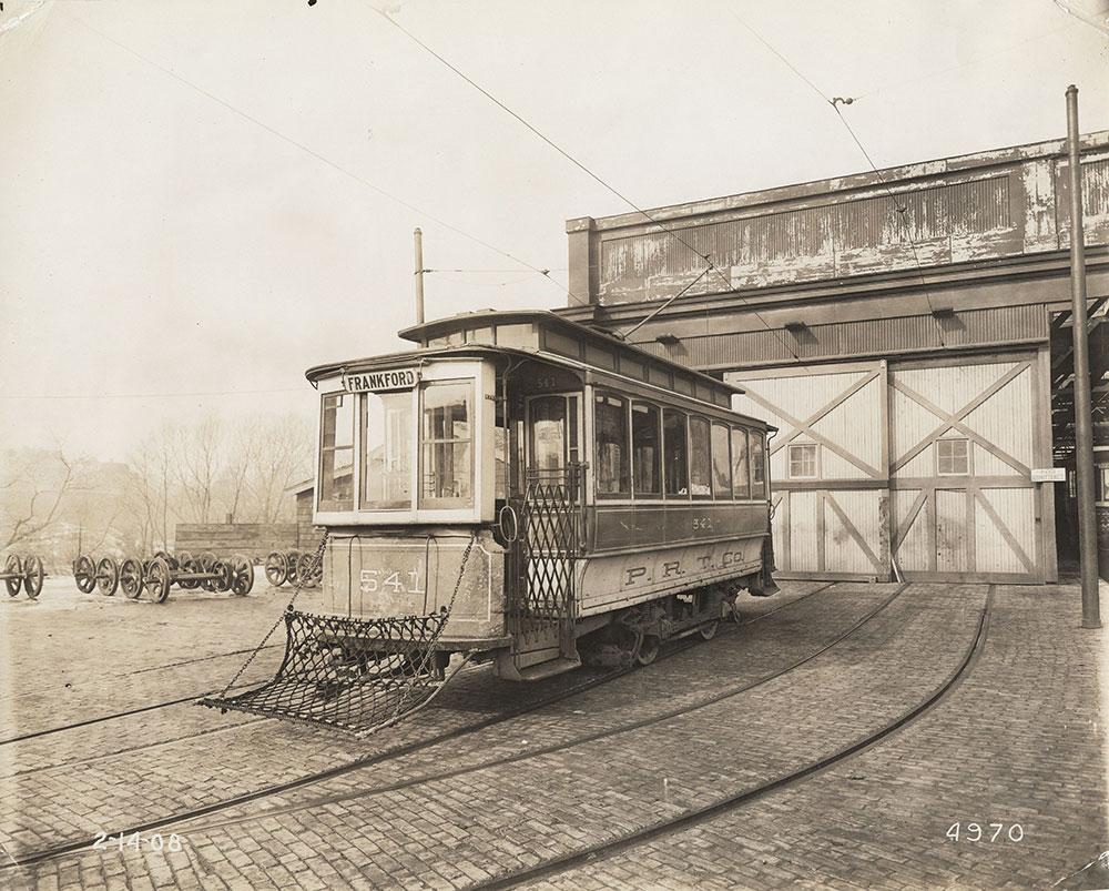 Trolley to Frankford, car no. 541