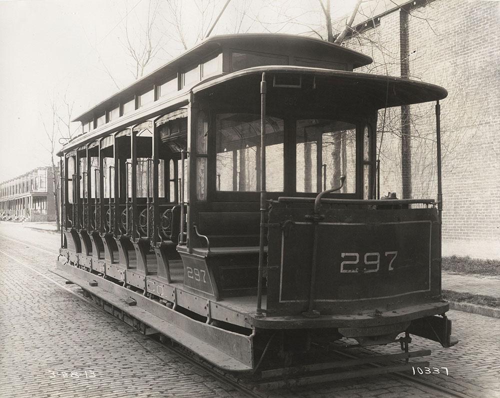 Trolley no. 297