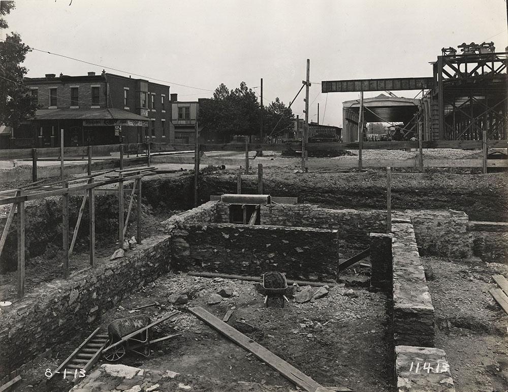 Construction at 59th & Callowhill Streets