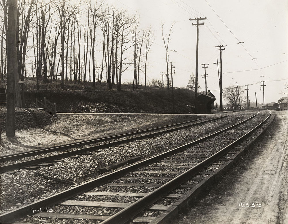 Glenside Line at Tyson Avenue