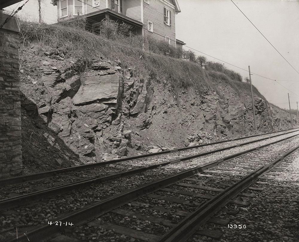 Rock cut on Glenside Line # 6