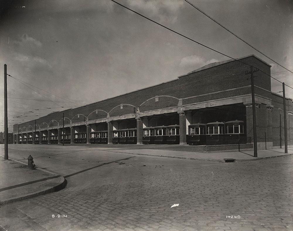Callowhill Depot on Vine Street
