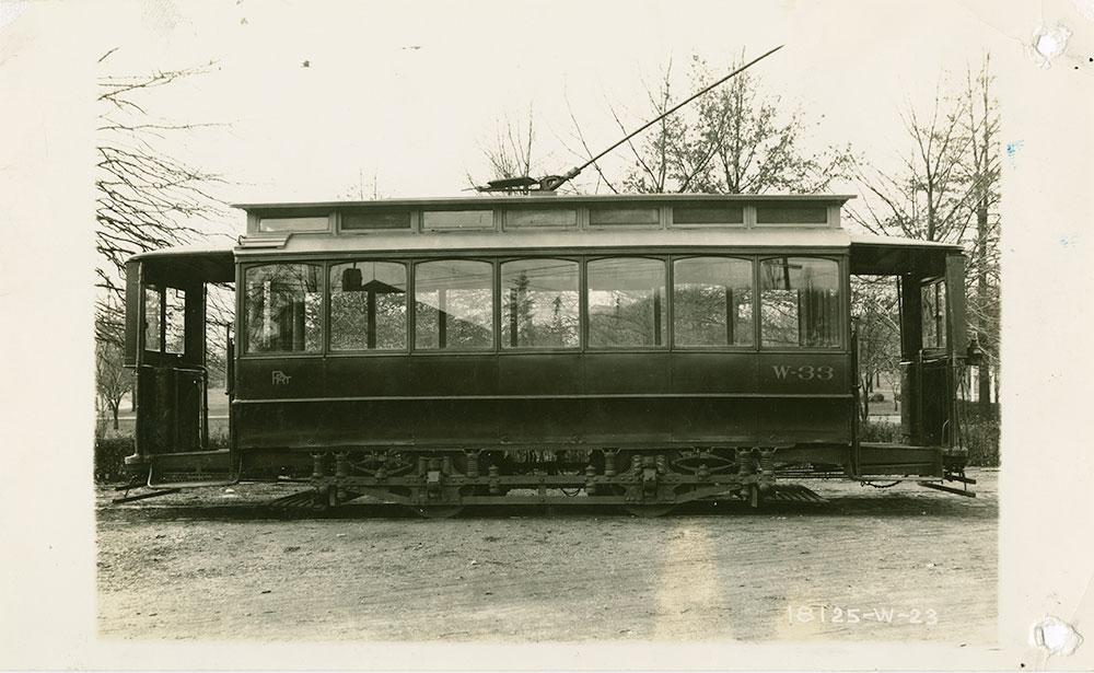 Trolley No. W-33
