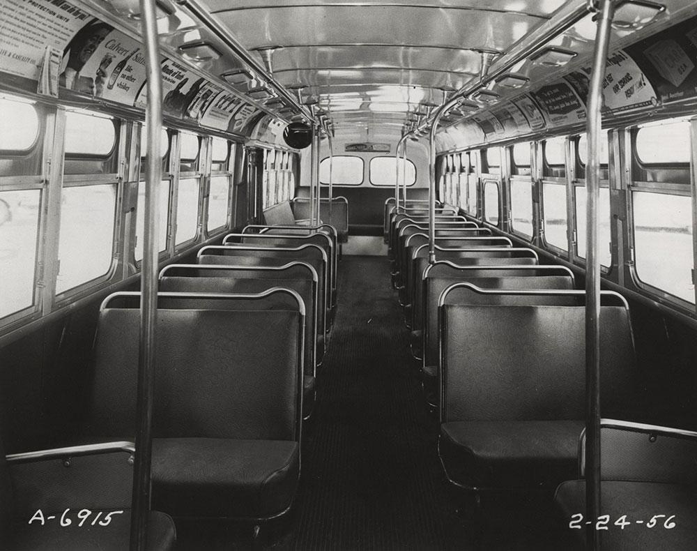 Bus interior view