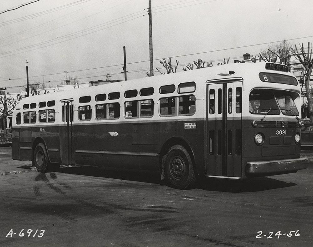 Bus no. 3091