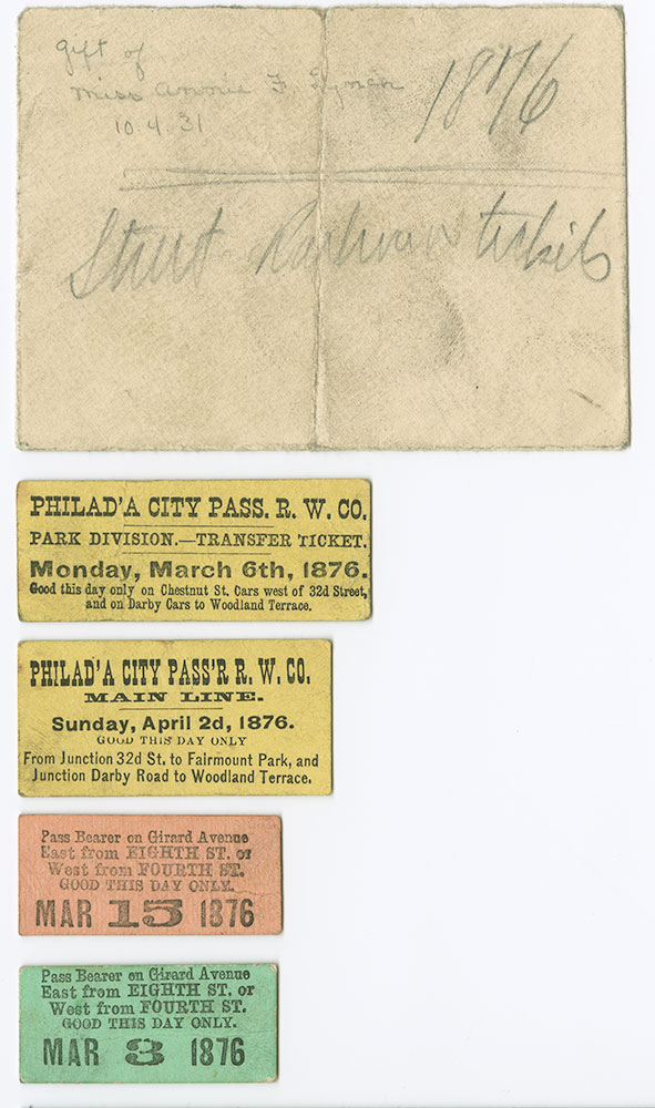 Street Tickets