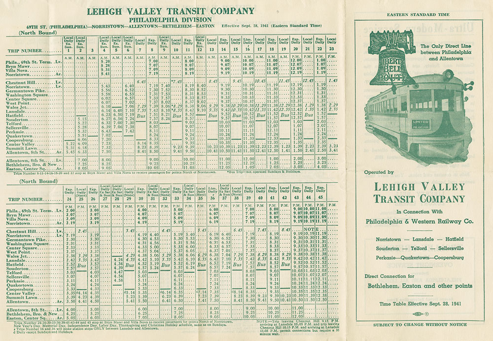 Lehigh Valley Transit Company Digital Collections Free Library