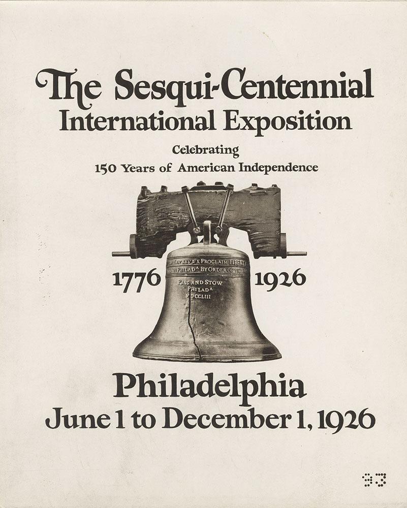 Sesqui-Centennial #1