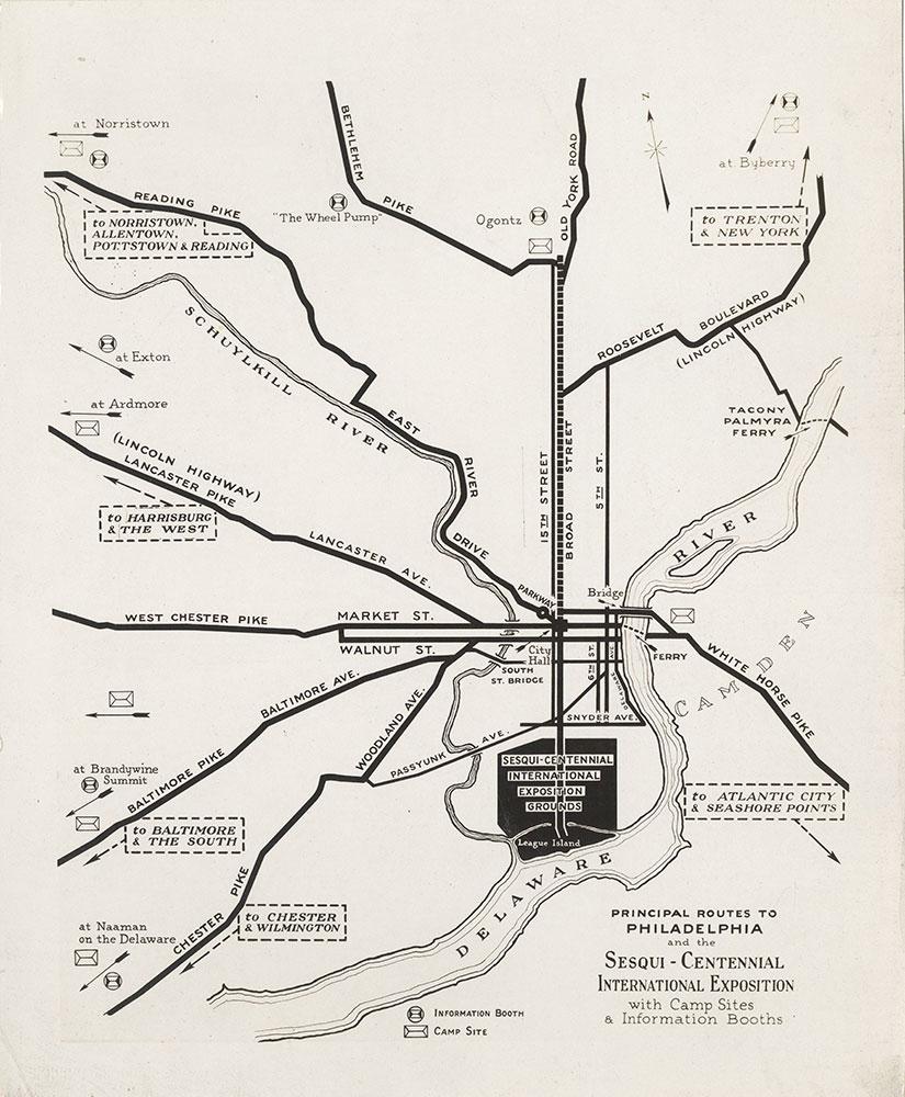 Sesqui-Centennial Map #3