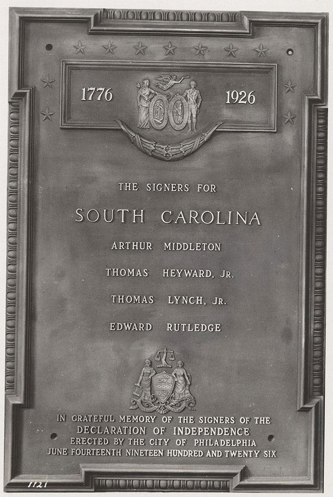 Sesqui-Centennial State Plaque #4