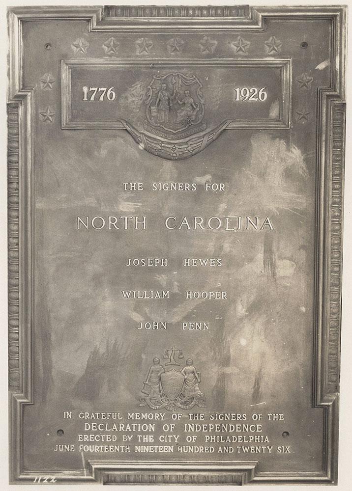 Sesqui-Centennial State Plaque #5