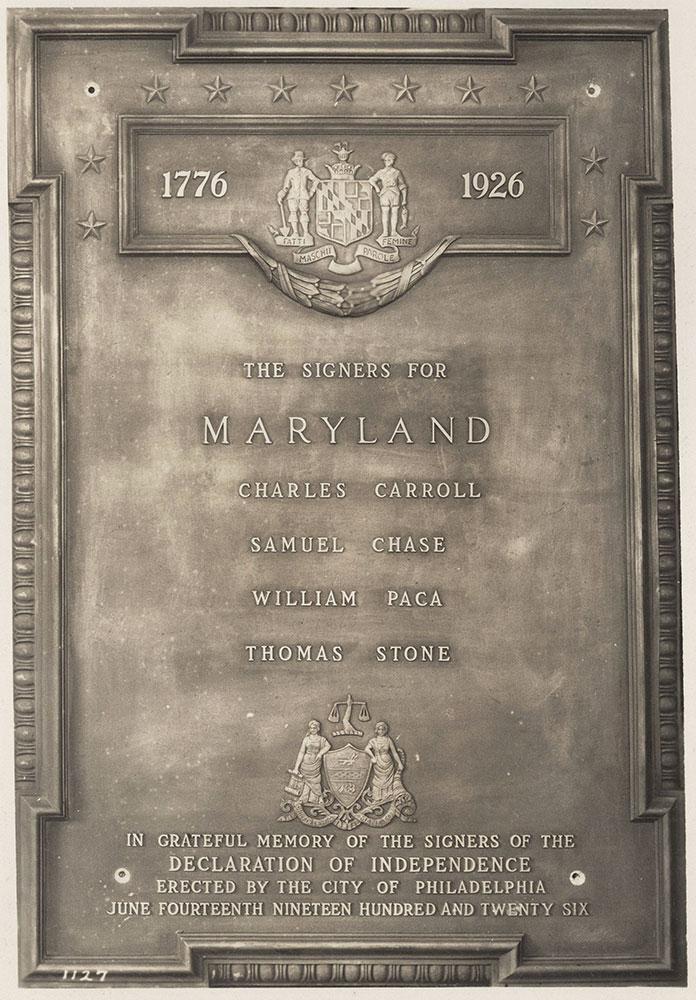 Sesqui-Centennial State Plaque #8