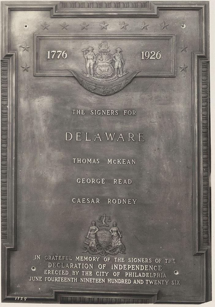 Sesqui-Centennial State Plaque #10