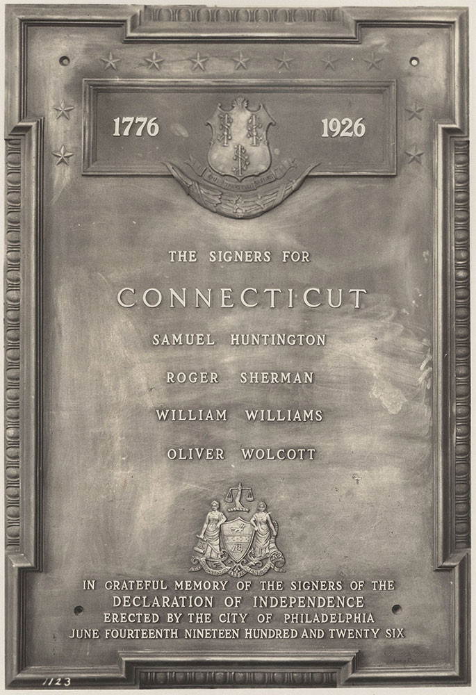 Sesqui-Centennial State Plaque #12