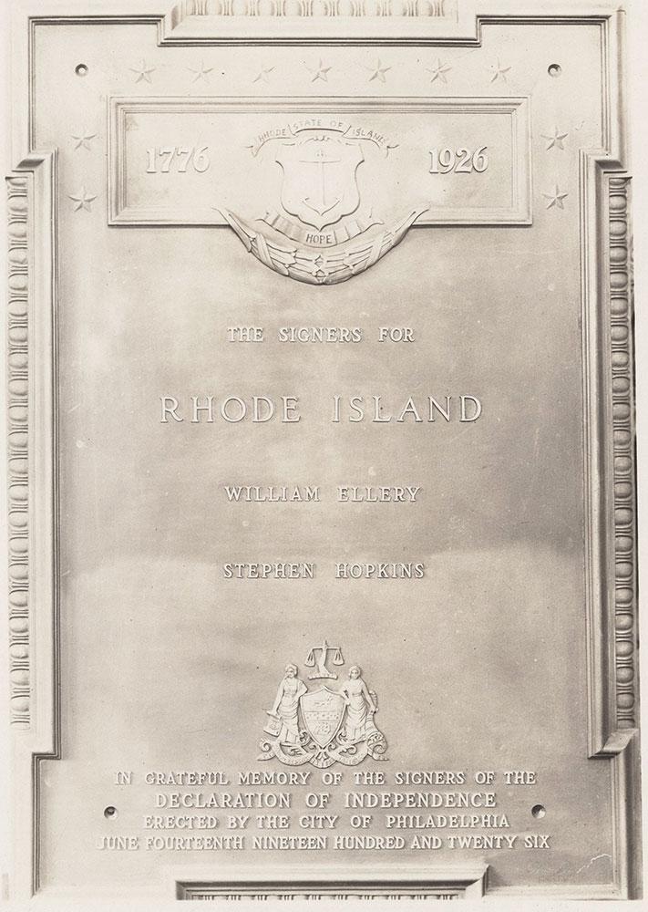 Sesqui-Centennial State Plaque #13