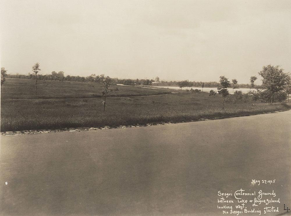 Sesqui-Centennial Pre-Construction Site #7