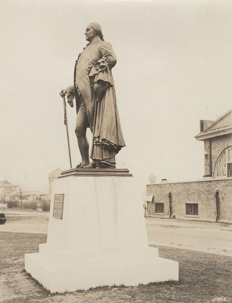 Sesqui-Centennial Statues #1