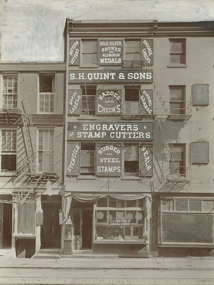 S. H. Quint and Sons, Engravers and Stamp Cutters