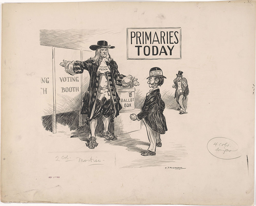 Primaries Today, 09/16/1913