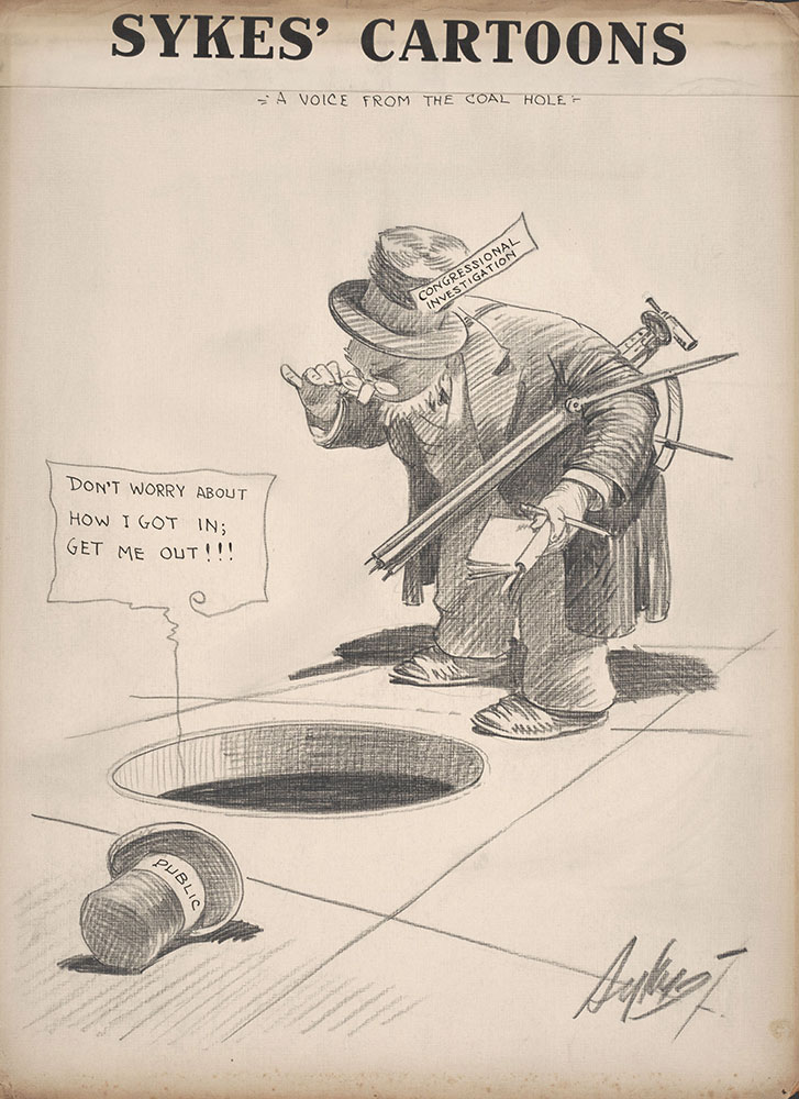 Sykes' Cartoons: A Voice From the Coal Hole