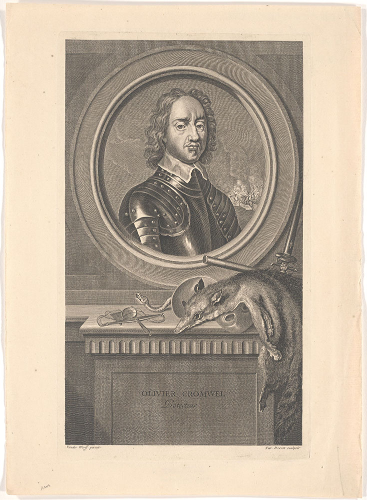 Oliver Cromwell, Protecteur