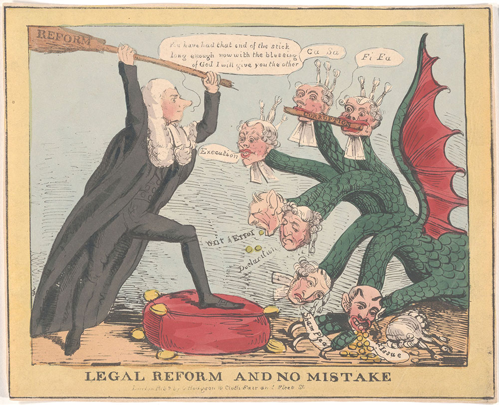 Legal Reform and Make No Mistake [Brougham]
