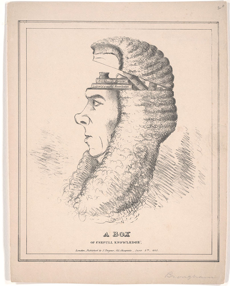 A Box of Useful Knowledge [Caricature of Brougham]