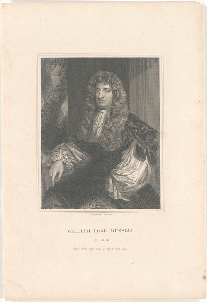 [Lord Wm. Russell - portrait]