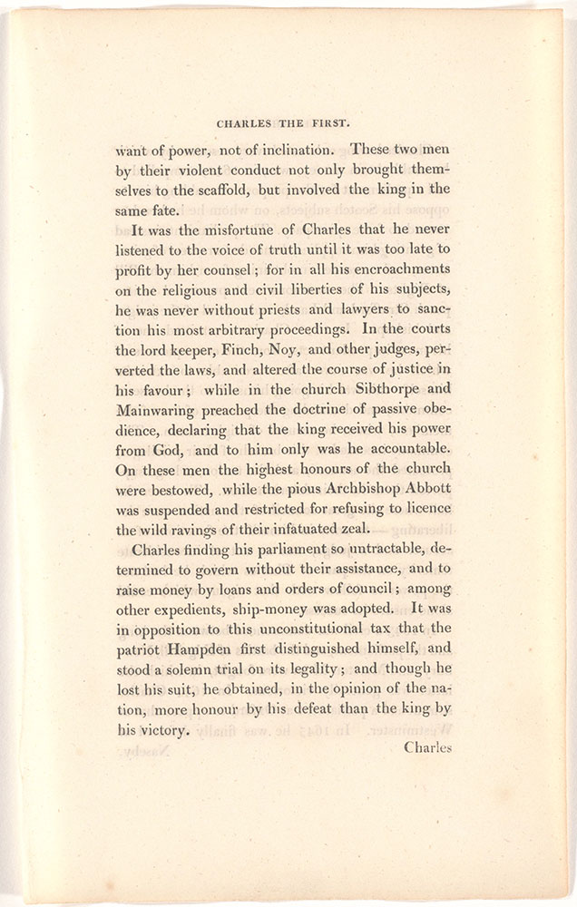 England Page 3 >> Charles The First King Of England Unidentified Text Page 3