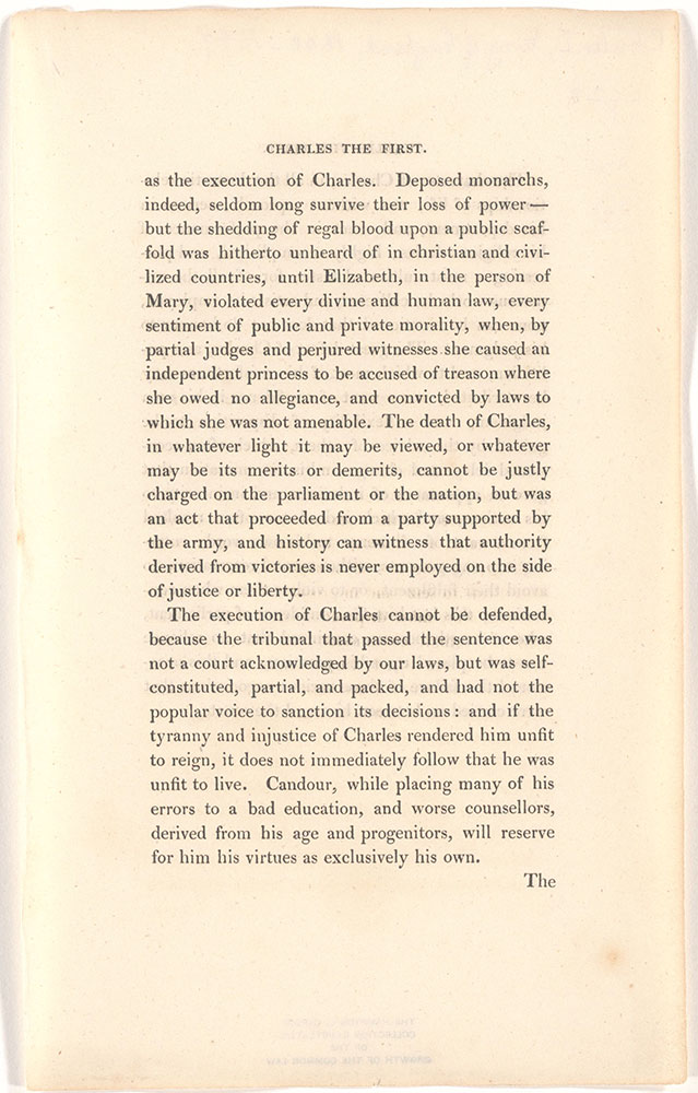 Charles The First, King of England unidentified text page 7