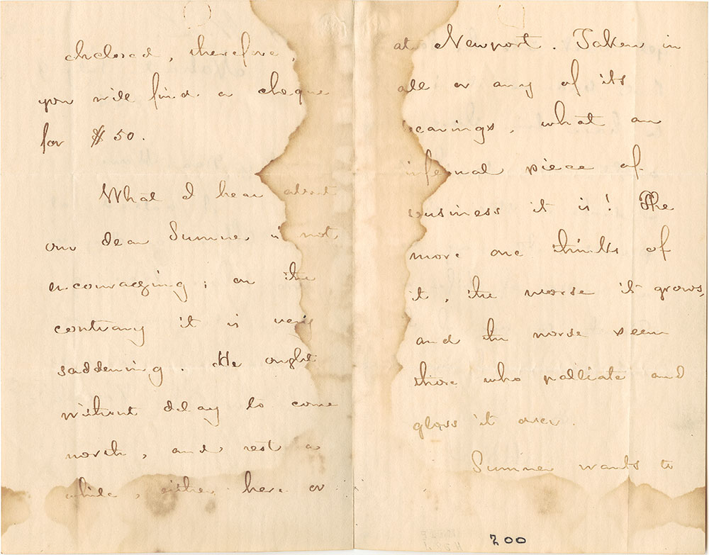 ALs to Samuel Gridley Howe, pages 2-3